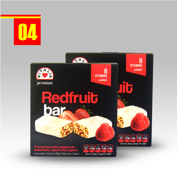 Vitalia Redfruit bars
