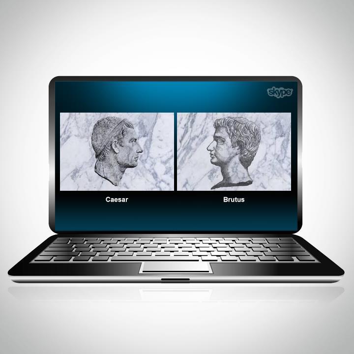 Skype, Caesar and Brutus